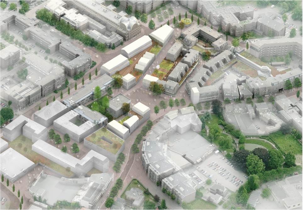 Centrumplan Best masterplan stedenbouw beeldkwaliteit openbare gebied
