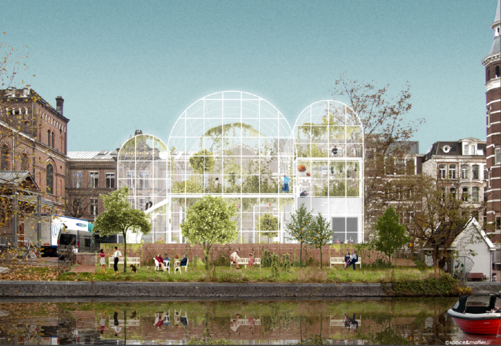 Rijkskas stadslandbouw leisure Amsterdam